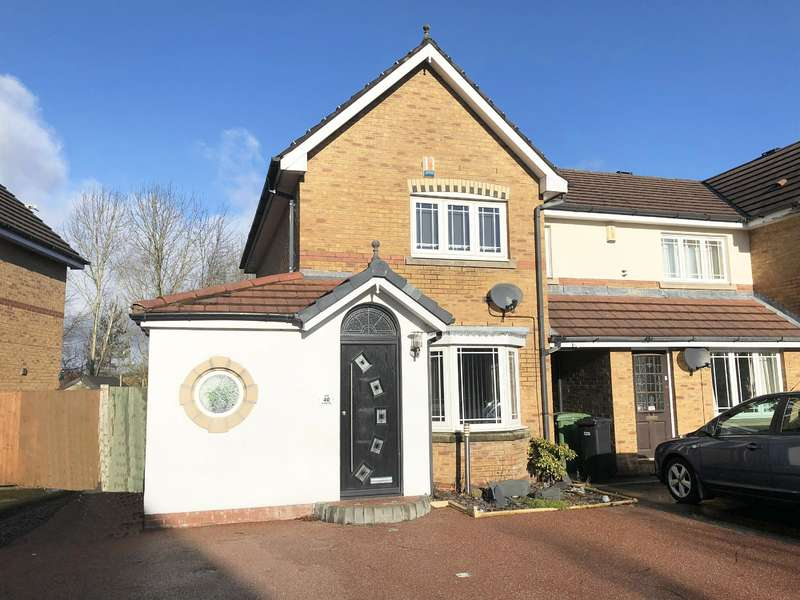 2 Bedrooms Town House for sale in Eastwood Close, Bolton, BL3 4TG