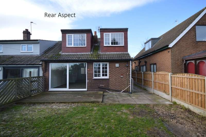 3 Bedrooms Semi Detached Bungalow for sale in Rooks Nest Road, Outwood, Wakefield