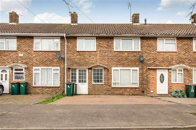 3 Bedrooms Terraced House for sale in Winchester Road, Tilgate, Crawley