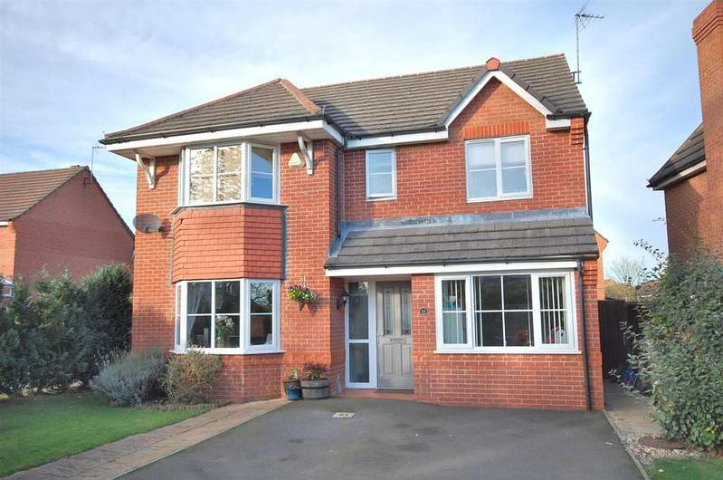 4 Bedrooms House for sale in Horseguards Way, Melton Mowbray