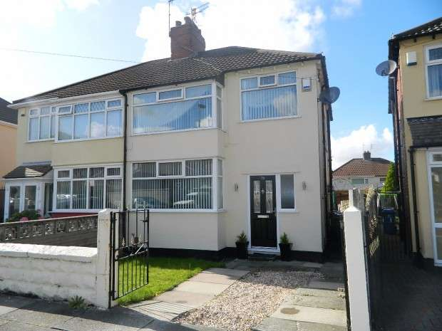 3 Bedrooms Semi Detached House for sale in Fairfield Crescent, Huyton, Liverpool, L36