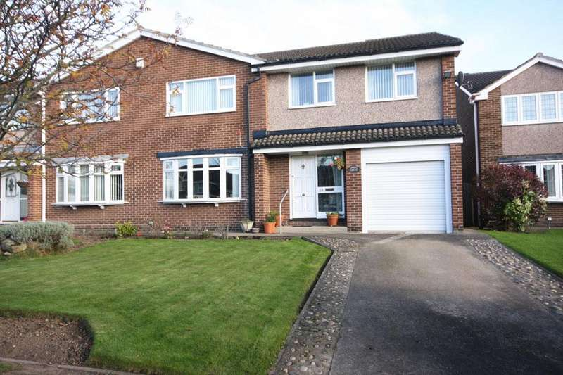 4 Bedrooms Semi Detached House for sale in Picktree Lodge, Chester-le-Street DH3 4DH