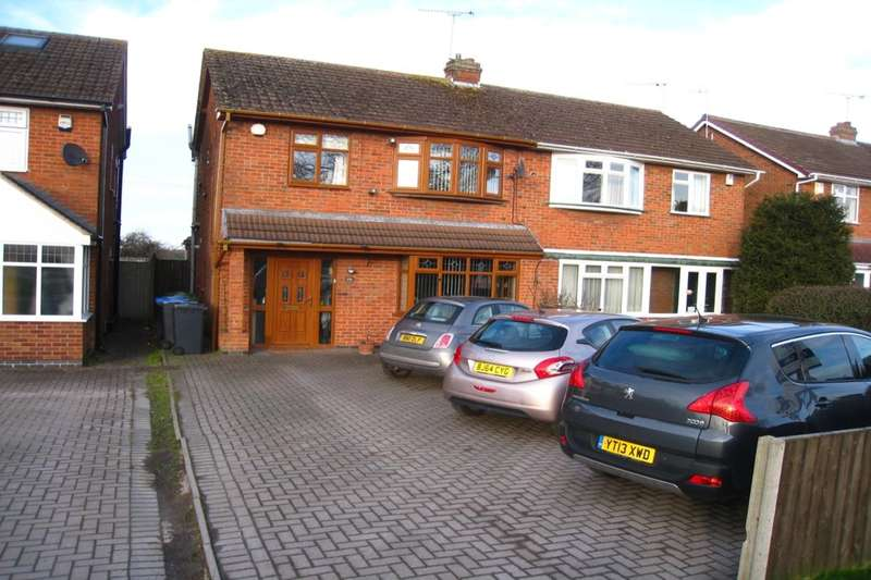 3 Bedrooms Semi Detached House for sale in Rugby Road, Binley Woods, Coventry, CV3