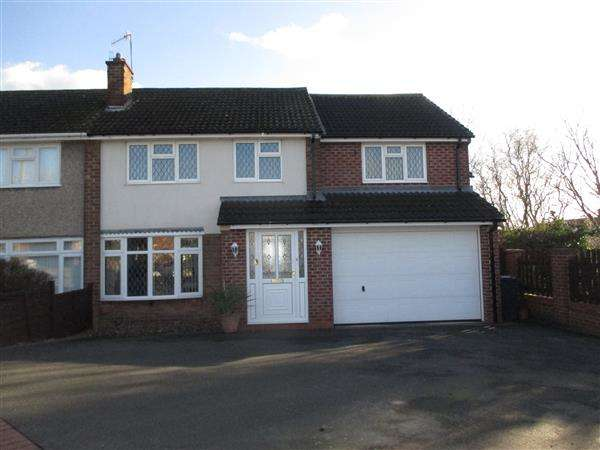 5 Bedrooms Semi Detached House for rent in Duke Crescent, Giltbrook, Nottingham