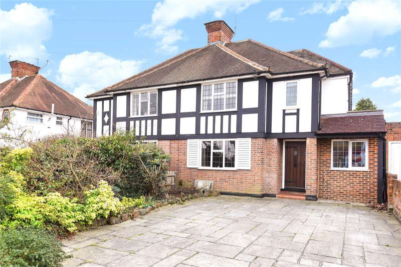 5 Bedrooms Semi Detached House for sale in Oaklands Avenue, Oxhey Hall, WD19