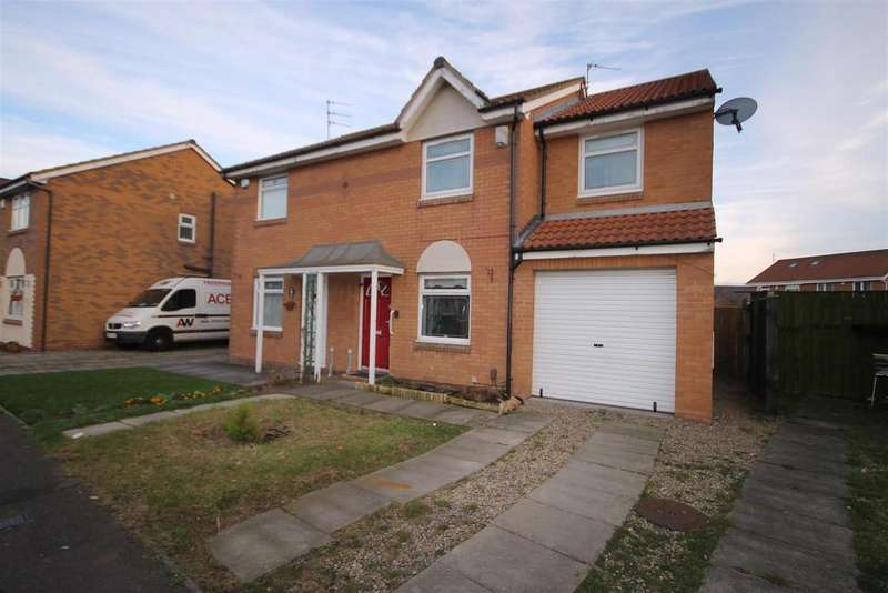 4 Bedrooms Semi Detached House for sale in Wasdale Close, Bakers Mead, Hartlepool
