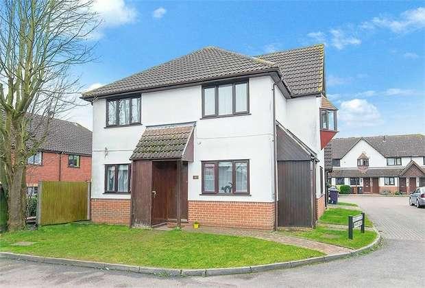 2 Bedrooms Flat for sale in Hampden Close, Letchworth Garden City, Hertfordshire