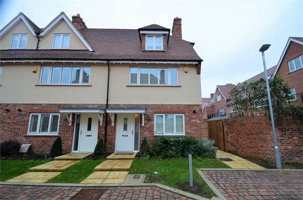 3 Bedrooms End Of Terrace House for sale in Quartermaster Lane, Millbrook Park, NW7