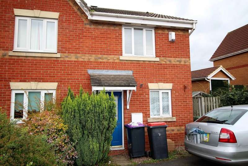 2 Bedrooms Semi Detached House for rent in Ivy House Paddocks, Ketley, Telford