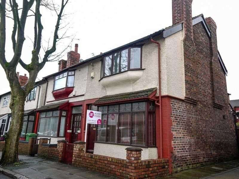 3 Bedrooms Semi Detached House for sale in Caldy Road, Aintree, Liverpool