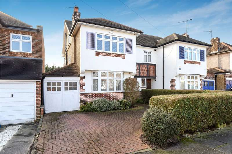 4 Bedrooms Semi Detached House for sale in Tewkesbury Avenue, Pinner, Middlesex, HA5