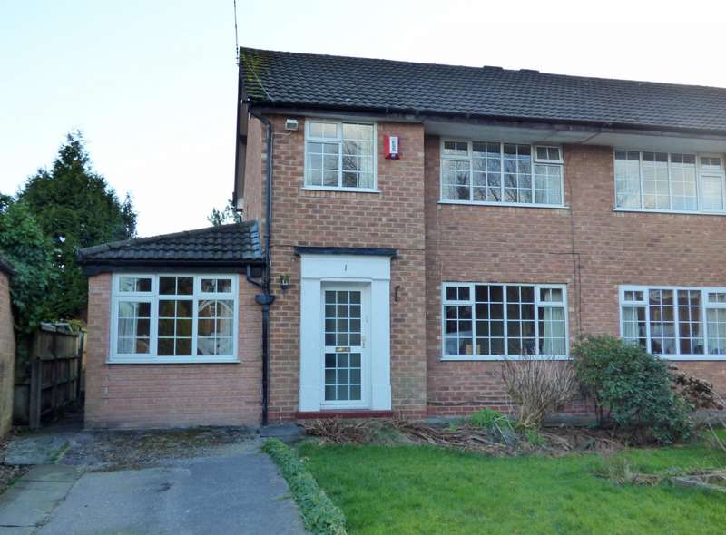 3 Bedrooms Semi Detached House for sale in Sedgemoor Close, Cheadle Hulme, SK8