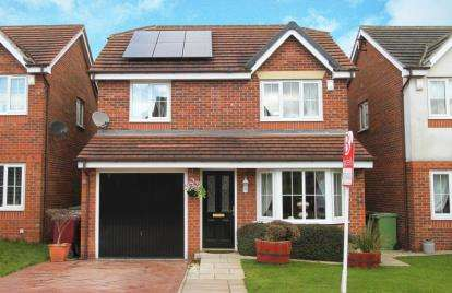 4 Bedrooms Detached House for sale in St. Matthews Close, Renishaw, Sheffield, Derbyshire