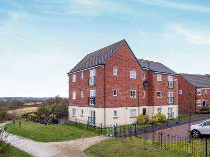 2 Bedrooms Flat for sale in Wessex Drive, Giltbrook, Nottingham, Nottinghamshire