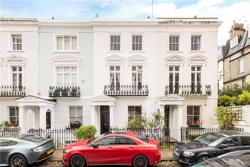 4 Bedrooms Terraced House for sale in Chalcot Crescent, Primrose Hill, London, NW1