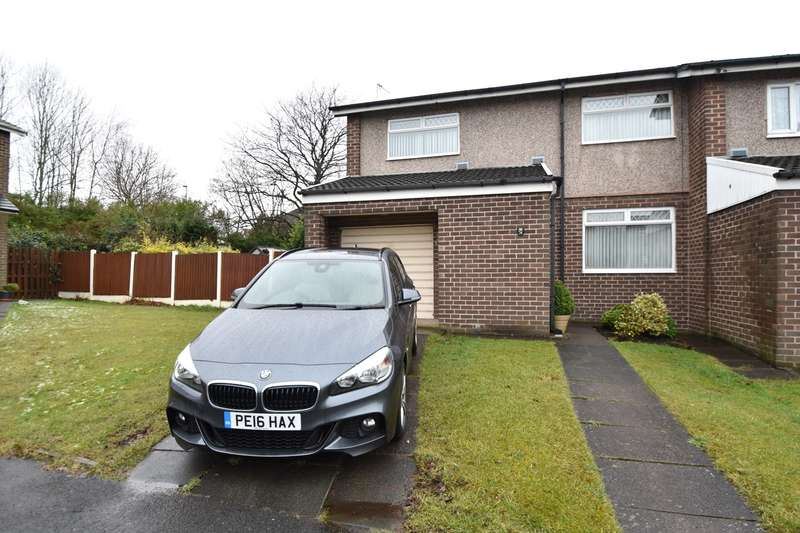 3 Bedrooms End Of Terrace House for sale in Derwent Close, Whitefield, Manchester, M45