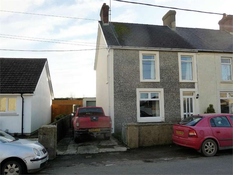 3 Bedrooms End Of Terrace House for sale in Kenwyn House, 16 Station Road, Letterston, Haverfordwest, Pembrokeshire