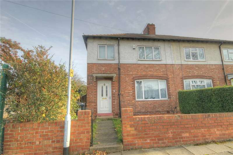 3 Bedrooms Semi Detached House for sale in Pendleton Road South, Darlington, Co Durham, DL1