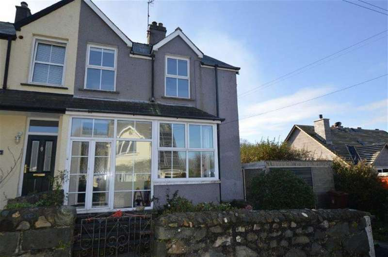 4 Bedrooms Semi Detached House for sale in Gwynfryn, Celynin Road, Llwyngwril, LL37