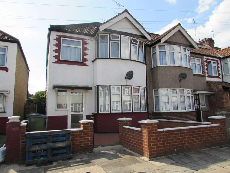 3 Bedrooms Semi Detached House for sale in Tiverton Road, Wembley HA0