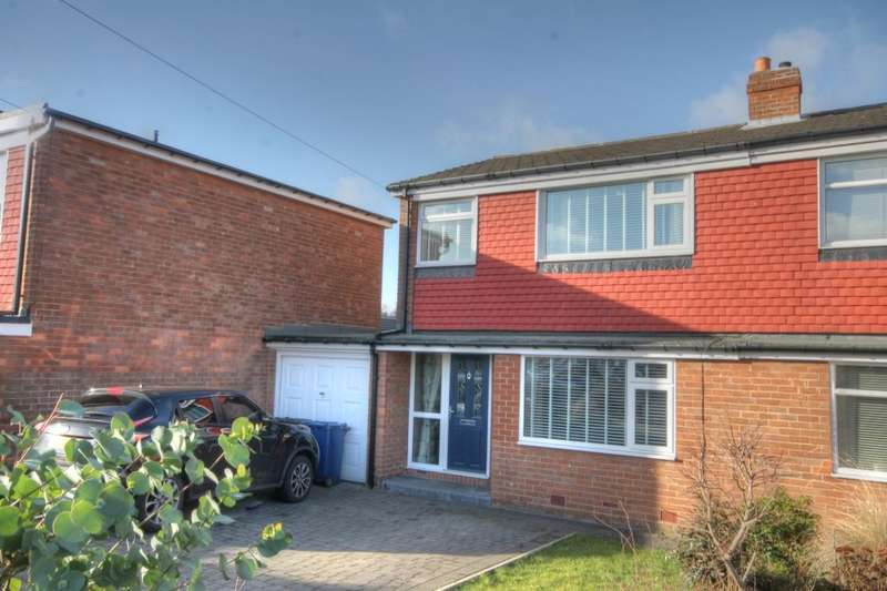 3 Bedrooms Semi Detached House for sale in Avalon Drive, South West Denton, Newcastle Upon Tyne, NE15