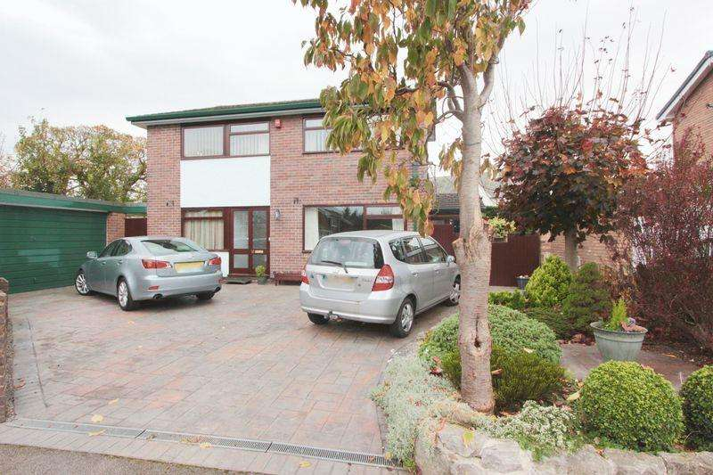 4 Bedrooms Detached House for sale in Cwm Llewenni, Denbigh