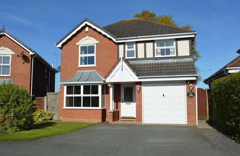 4 Bedrooms Detached House for sale in Forge Fields, Wheelock