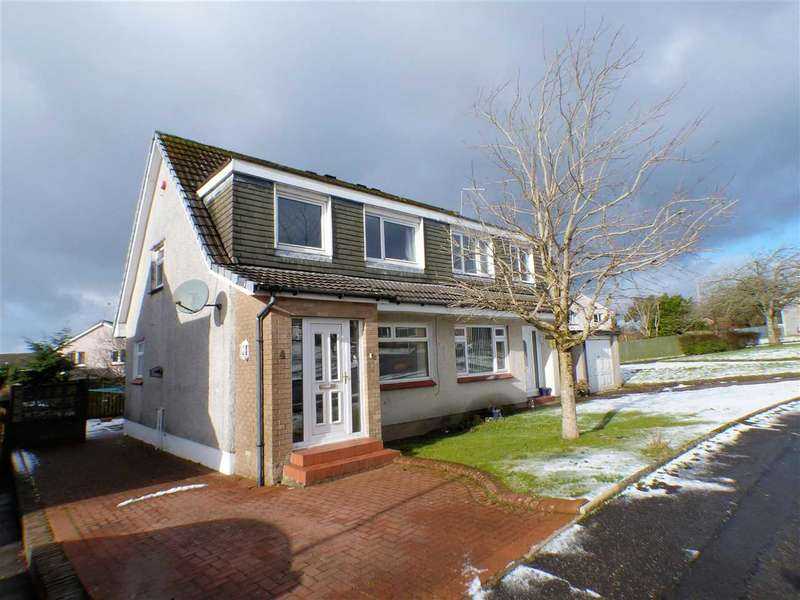 3 Bedrooms Semi Detached House for sale in Findhorn Place, Gardenhall, EAST KILBRIDE