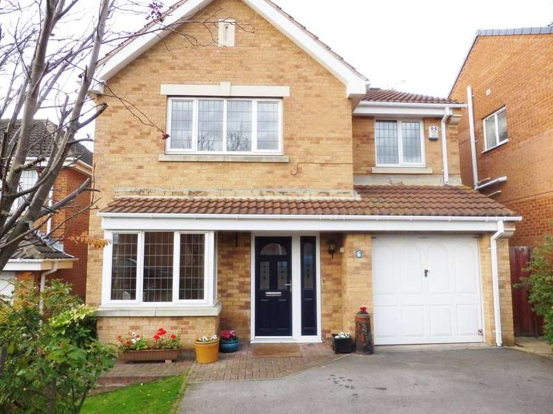 4 Bedrooms Detached House for sale in Windmill Court, Wombwell S73