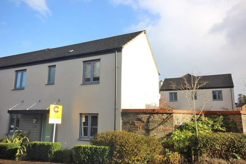 3 Bedrooms End Of Terrace House for sale in Orleigh Cross, Newton Abbot