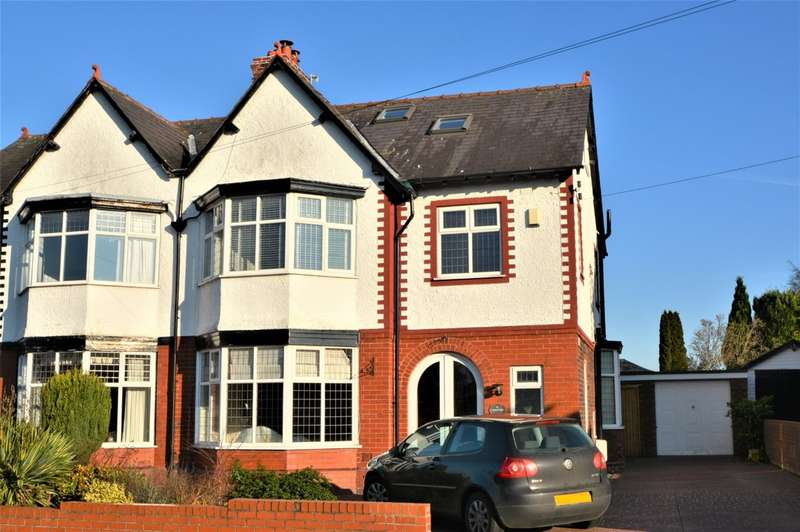 4 Bedrooms Semi Detached House for rent in Barrymore Road, Grappenhall, Warrington