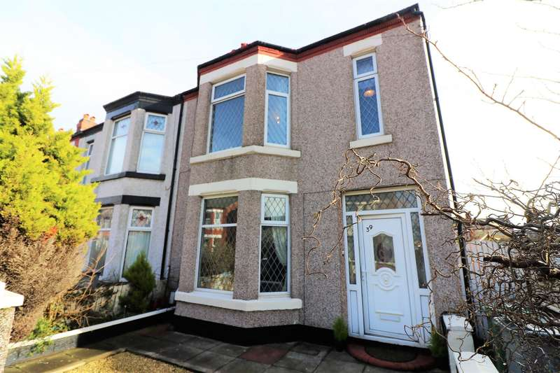 4 Bedrooms House for sale in Burns Avenue, Wallasey, CH45 4RD