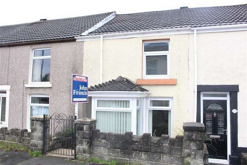 2 Bedrooms Terraced House for sale in Swansea Road, Waunarlwydd