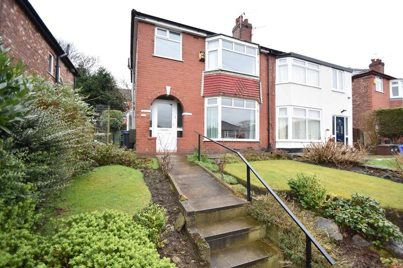 3 Bedrooms Semi Detached House for sale in Shelley Road, Prestwich, Manchester, M25