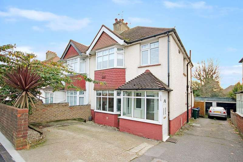 3 Bedrooms Semi Detached House for sale in Old Shoreham Road, Southwick, BN42 4LT