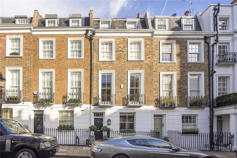 4 Bedrooms Terraced House for sale in Trevor Place, London, SW7