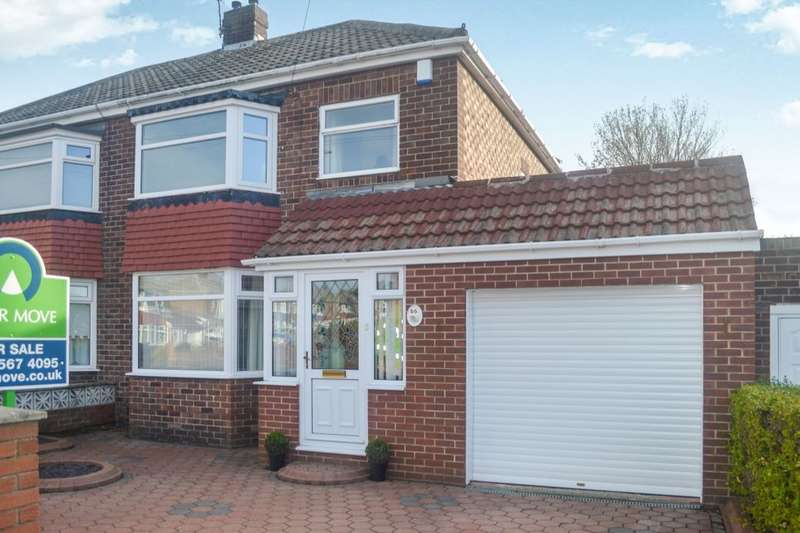 3 Bedrooms Semi Detached House for sale in Brierfield Grove, Barnes, Sunderland, SR4