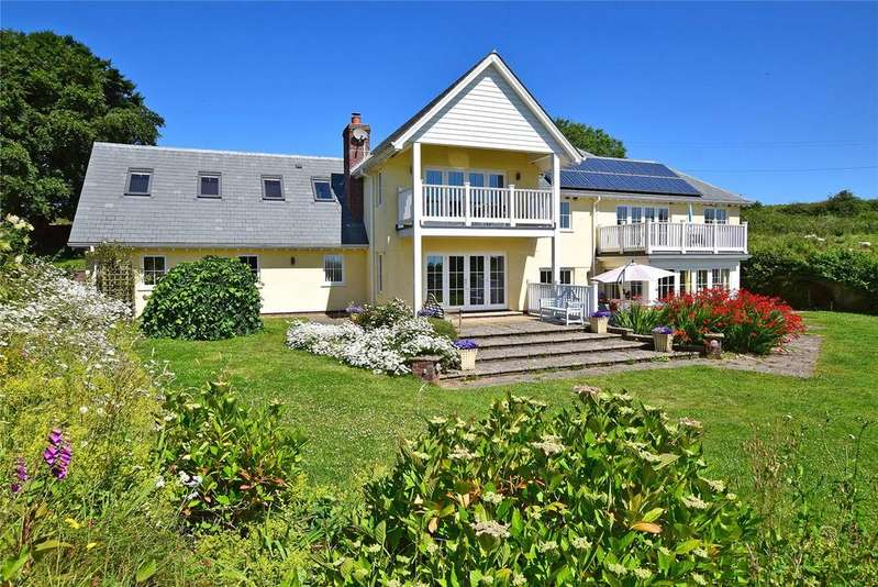 5 Bedrooms Detached House for sale in Branscombe, Seaton, Devon
