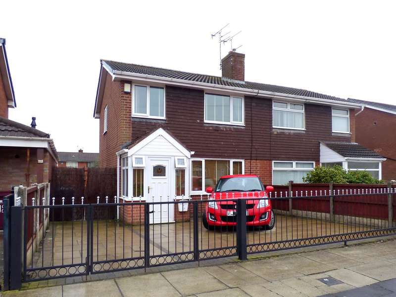 3 Bedrooms Semi Detached House for sale in Wallace Avenue, Huyton, Liverpool