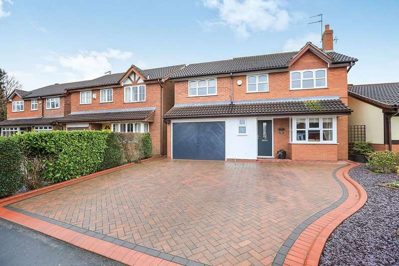 4 Bedrooms Detached House for sale in Leasowe Drive, Perton, Wolverhampton, WV6