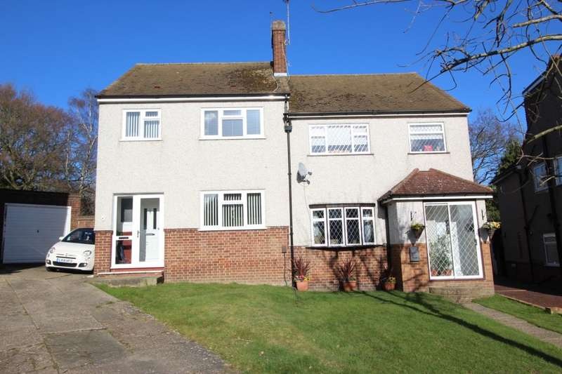 3 Bedrooms Semi Detached House for sale in Homefield Close, SWANLEY, BR8