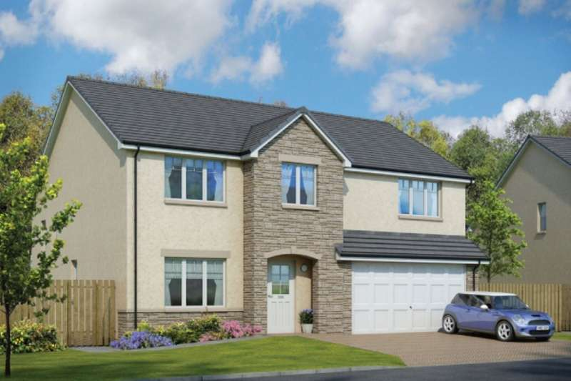 5 Bedrooms Detached House for sale in Oakley Road, Saline, Dunfermline, KY12