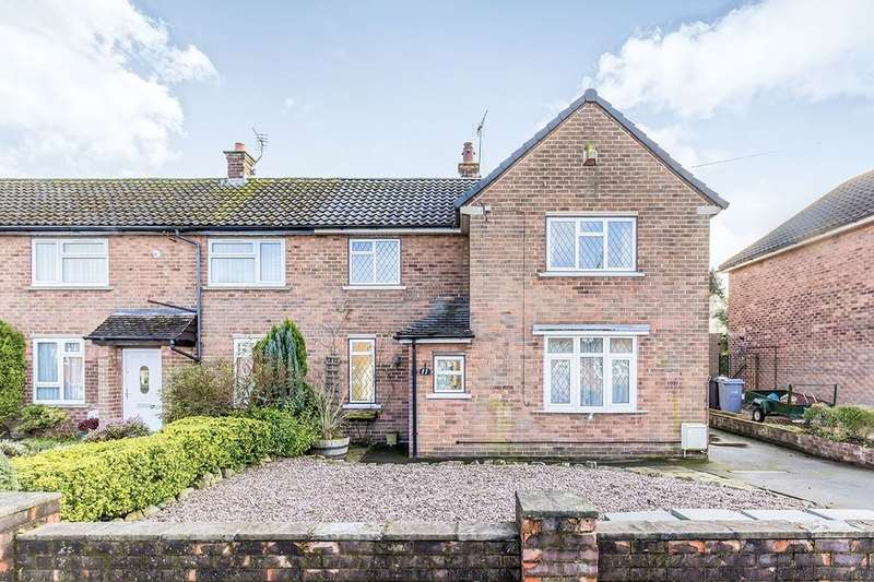 3 Bedrooms Semi Detached House for rent in Sadlers Close, Holmes Chapel, Crewe, CW4