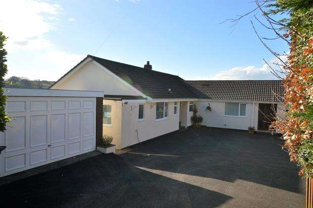 4 Bedrooms Detached Bungalow for sale in Cheriton Fitzpaine, Crediton, Devon