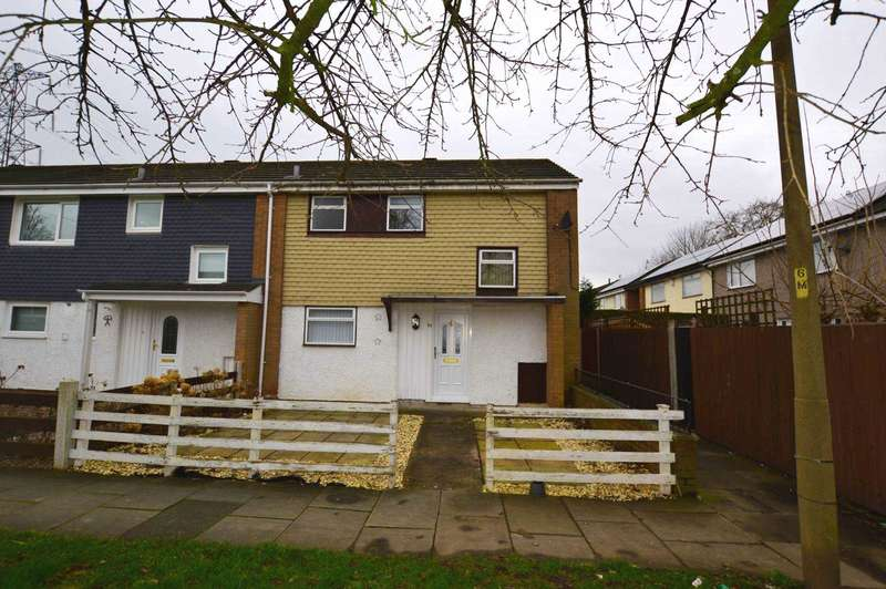 3 Bedrooms End Of Terrace House for rent in Mallowdale Close, Eastham