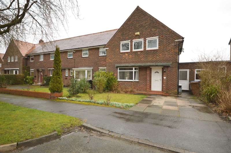3 Bedrooms Semi Detached House for sale in MORETON AVENUE, Bramhall