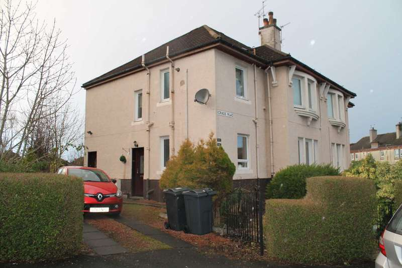 2 Bedrooms Flat for rent in Crags Road, Paisley, PA2 6QY