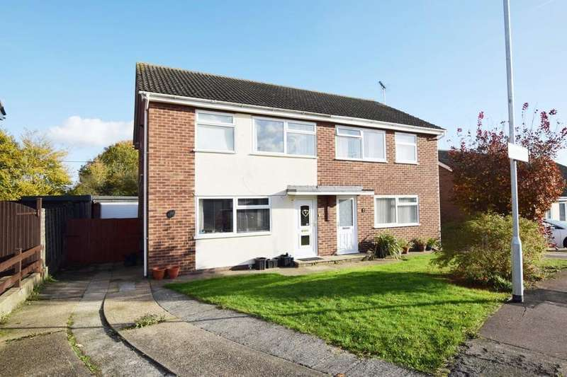 3 Bedrooms Semi Detached House for sale in Bracken Way, Abberton, Colchester CO5 7PG