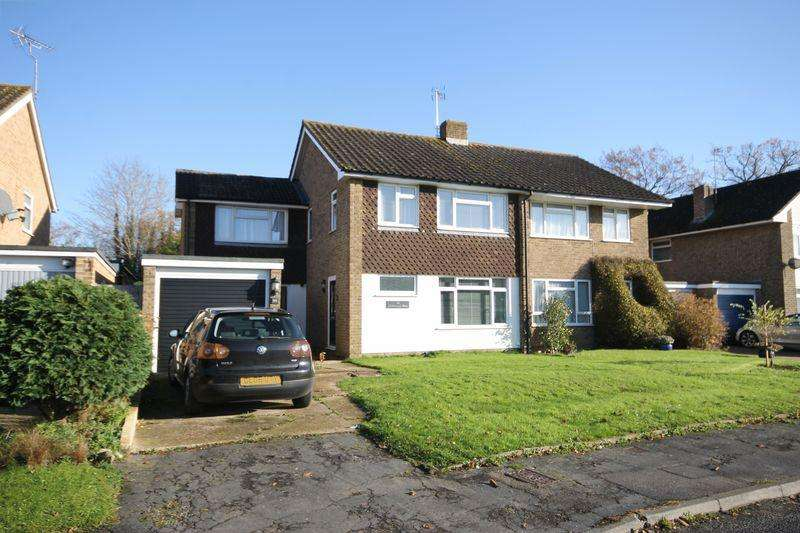 4 Bedrooms Semi Detached House for sale in Marlborough Drive, Burgess Hill, West Sussex