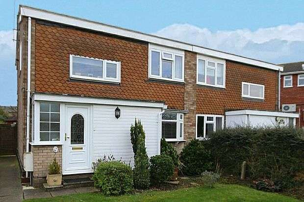 3 Bedrooms Semi Detached House for sale in Barkham Close, Cheddington, Leighton Buzzard, Buckinghamshire, LU7 0RT